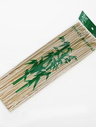 cheap -1 Bag of Bamboo Stick Skewer for Outdoor Barbecue about 90PCS (Random Package)
