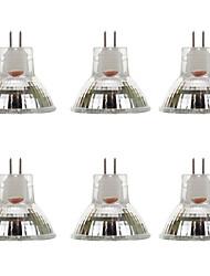 cheap -6pcs 2 W LED Spotlight 300 lm MR11 MR11 9 LED Beads SMD 5730 Warm White White 9-30 V