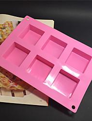 Недорогие -Dongguan pho_05oq6 даже квадратное мыло ручной работы формы для выпечки торт плесень 23x16x2.5 см 105 г