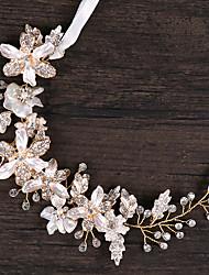 cheap -Alloy Hair Accessory with Rhinestone / Flower 1 Piece Wedding / Birthday Headpiece