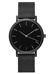 cheap -Dress Watch Ceramic Analog Black Gold / Stainless Steel
