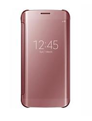 Недорогие -Кейс для Назначение SSamsung Galaxy S8 Plus / S8 / S8 Edge Защита от удара / Защита от пыли Чехол Однотонный Твердый ПК
