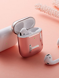 cheap -Case For AirPods Shockproof / Plating Headphone Case Soft