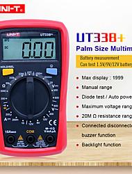 Недорогие -uni-t ut33b + цифровой мультиметр ручной цифровой дисплей с подсветкой для офиса и обучения