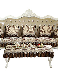 cheap -Sofa Cushion Plants / Classic / Contemporary Embroidery / Embossed / Quilted Cotton / Nylon Slipcovers