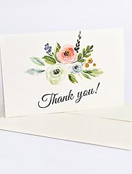 """Недорогие -Yiwu pho_089g набор из 6 карточек """"Спасибо"""" на английском языке. Открытка """"Спасибо!"""""""