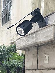 Недорогие -1шт 5 W Свет газонные / Светодиодный уличный фонарь / Солнечный свет стены Водонепроницаемый / Работает от солнечной энергии / Инфракрасный датчик Белый 3.7 V Уличное освещение / Бассейн / двор 10