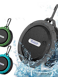 cheap -C6 Bluetooth Wireless Speaker Mini Super Bass Portable Loudspeaker Outdoor Sports Waterproof Sound Box For Smartphone