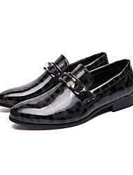 abordables -Homme Chaussures Formal Cuir / Cuir Verni Printemps été / Automne hiver Business / Simple Mocassins et Chaussons+D6148 Golf Shoes Chaud Noir / Rouge / Bleu / Mariage / Soirée & Evénement / Mariage