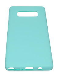 cheap -for Samsung NOTE 8 Cute Candy Color Matte TPU Anti-scratch Non-slip Protective Cover Back Case