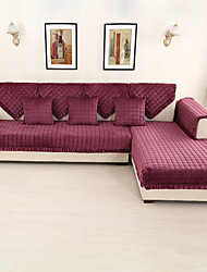 cheap -Sofa Cushion Contemporary Embroidery Wool Flannel Slipcovers