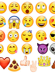 cheap -27pcs Emoji Photo Booth Props Party Supplies, Birthday Gift Photobooth Decor, Kids Funny Mask for Wedding Favors Holiday Baby Shower