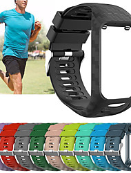 cheap -Replacement Silicone Wristband Wrist Strap Watch Band For TomTom Runner 2 / Runner 3 / Spark 3 / Golfer 2 Bracelet Belt Accessory