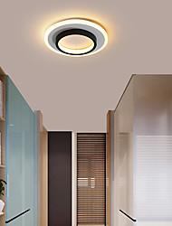 cheap -1-Light 24 cm LED Flush Mount Lights Metal Acrylic Linear LED / Modern 110-120V / 220-240V