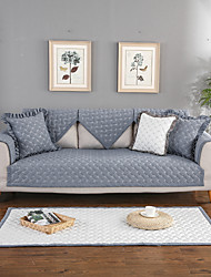 cheap -Sofa Cushion Contemporary Embossed 100% Cotton Slipcovers