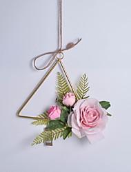 Недорогие -Искусственные цветы Полиэстер Modern нерегулярный Цветы на стену нерегулярный 1