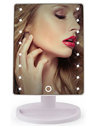 cheap -Cosmetic Mirrors LED Light / Easy to Carry / Youth Makeup 1 pcs ABS Quadrate Nursing / Adult / Daily Traditional / Fashion School / Date / Vacation Daily Makeup Casual / Daily Convenient Cosmetic