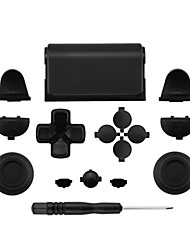 cheap -Game Controller Replacement Part Kits  Multi-color Full Replacement Parts Button for the PlayStation 4 Controller for the  PS4 / Sony PS4 Controller