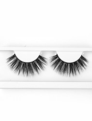 cheap -Neitsi One Pair 6D Synthetic False Eyelashes Black Women Girls Makeup Party Eyelashes Extensions G7009