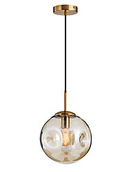 cheap -Pendant Lamp Globe Glass ShadeModern Adjustable Hanging Light Fixtures Round Glass ShadeNordic Simplicity Pendant Light Round for Kitchen Island Living Room Hallway