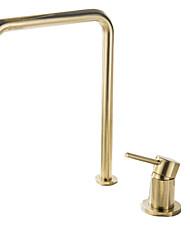 abordables -Robinet lavabo - Séparé Multiplex Autre Mitigeur deux trousBath Taps