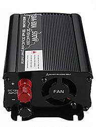 Недорогие -инвертор солнечной энергии 400 Вт пиковый 12 В постоянного тока в 230 В переменного тока модифицированный синусоидальный преобразователь