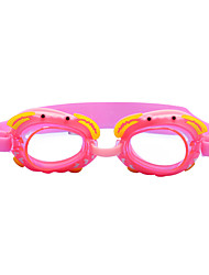 cheap -Swimming Goggles Waterproof Anti-Fog Silica Gel PC Reds Pink Blues Red Pink Blue