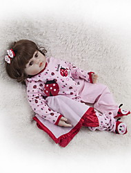 cheap -Reborn Doll Baby Girl 22 inch Kids / Teen Kid's Girls' Toy Gift