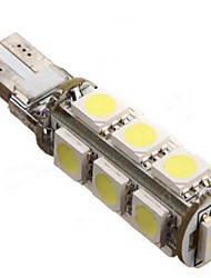 cheap -Canbus T10 194 168 W5W 5050 13 SMD LED Car Side Wedge Light White