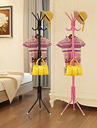 cheap -Multifunction Coat Hat Metal Rack Organizer Hanger Hook Stand for Purse Handbag Clothes Scarf