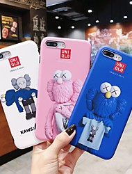 cheap -Case For Apple iPhone XR / iPhone XS Max Pattern / IMD Back Cover Cartoon Soft TPU for iPhone 6 / iPhone 6 Plus / iPhone 6s