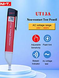 Недорогие -бесконтактные датчики напряжения переменного тока uni-t ut13a регулируемая чувствительность 50-1000 В электрический тестовый карандаш