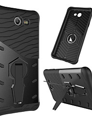 cheap -Exquisite Phone Case Protective Cover with 360 Degree Rotating Phone Bracket for Samsung J7