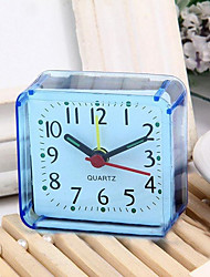 cheap -High Quality Vintage Square Trip Bed Compact Travel Desktop Alarm Clock Outdoor Table Creative Gift