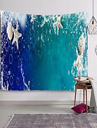 cheap -Beach Theme Wall Decor 100% Polyester Modern Wall Art, Wall Tapestries Decoration