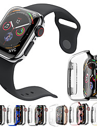 cheap -PC Plating Protective Case Cover Band For iWatch Apple Watch Series SE / 6/5/4/3/2/1  44 mm 40 mm 38 mm 42mm