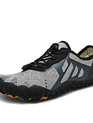 cheap -Men's Fall / Spring & Summer Sporty / Casual Daily Outdoor Trainers / Athletic Shoes Hiking Shoes / Upstream Shoes Mesh Breathable Non-slipping Shock Absorbing Black / Blue / Gray