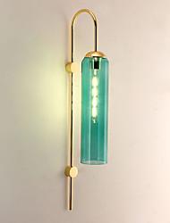 Недорогие -защита глаз / мини-стиль светодиодные утопленные настенные светильники кабинет / офис / спальня металлический настенный светильник 110-120v / 220-240v