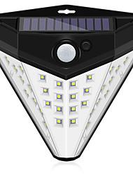 Недорогие -1шт 10 W Солнечный свет стены Водонепроницаемый / Работает от солнечной энергии / Управление освещением Белый 5 V Уличное освещение / двор / Сад 32 Светодиодные бусины