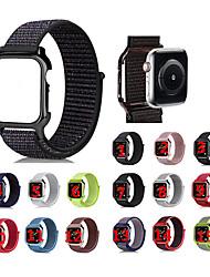 Недорогие -Ремешок для часов для Серия Apple Watch 5/4/3/2/1 / Apple Watch Series 4 Apple Спортивный ремешок Нейлон Повязка на запястье