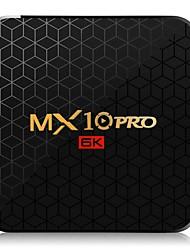 Недорогие -6k ТВ-бокс MX10 Pro Android 9.0 Allwinner H6 четырехъядерный процессор 4 ГБ 32