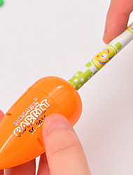 cheap -1 Piece Orange Color Pencil Sharpener for Kid Students