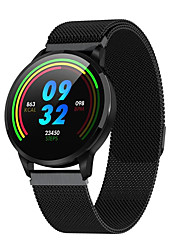 cheap -S16 Smartwatch Stainless Steel BT Fitness Tracker Support Notify/ Blood Pressure Measurement Sports Smart Watch for Samsung/ Iphone/ Android Phones