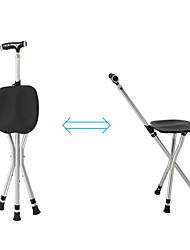 cheap -Camping Stool Tri-Leg Stool Portable Anti-Slip Foldable Comfortable Aluminum Alloy for 1 person Camping Camping / Hiking / Caving Traveling Picnic Autumn / Fall Spring Black Blue