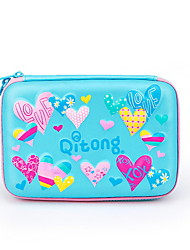 cheap -Case / Bags / Pencil Cases Random Colors / Blue / Purple, PU Leather Pouches / Universal Organization 3 Pieces