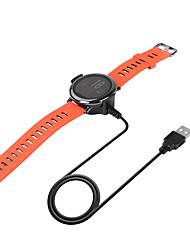 Недорогие -Smartwatch Charger / Быстрое зарядное устройство / Док-зарядное устройство Зарядное устройство USB USB с кабелем 5 A DC 5V для Huami Amazfit A1602