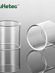 abordables -Tube en verre de rechange Yuhetec pour manteau 2 pièces