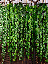 cheap -Artificial Plants Plastic Party / Evening Vine Wall Flower Vine 1