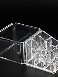 cheap -Storage Organization Cosmetic Makeup Organizer Acrylic Rectangle Shape Double-layer