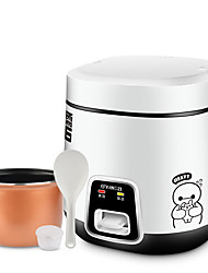 cheap -Electric Rice Cooker Single Multi-function Durable Easy to Install for 2 - 3 person Aluminum Alloy Outdoor Camping / Hiking Traveling Picnic White